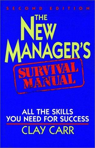 Download The new manager's survival manual