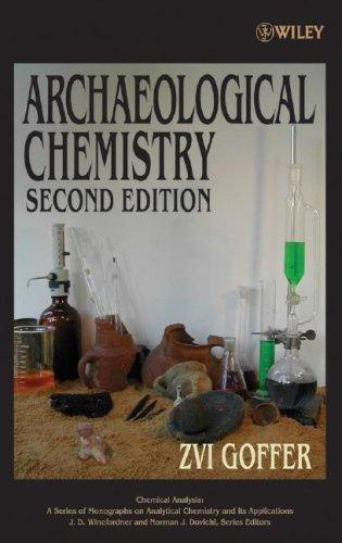 Download Archaeological chemistry