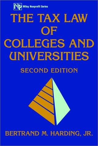 Download The tax law of colleges and universities