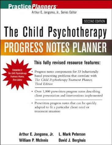 Download The Child Psychotherapy Progress Notes Planner (Practice Planners)