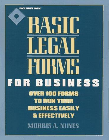 Download Basic legal forms for business