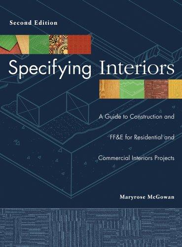 Download Specifying interiors