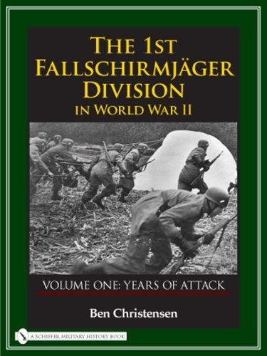 Download The 1st Fallschirmjäger Division in World War II