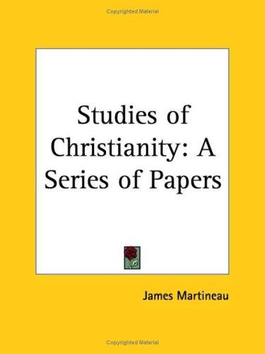 Download Studies of Christianity