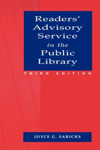 Download Readers' advisory service in the public library