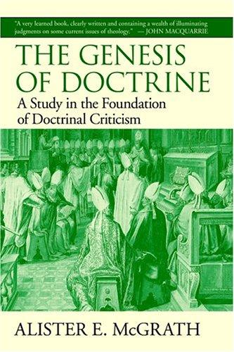 Download The Genesis of Doctrine