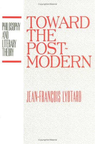 Download Toward the postmodern