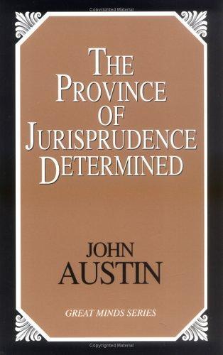 Province of jurisprudence determined