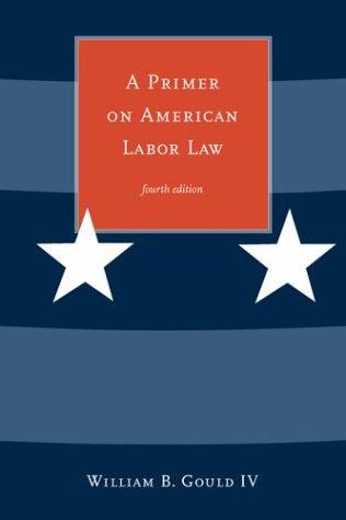 A primer on American labor law