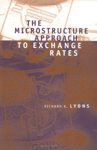 Image for The Microstructure Approach to Exchange Rates