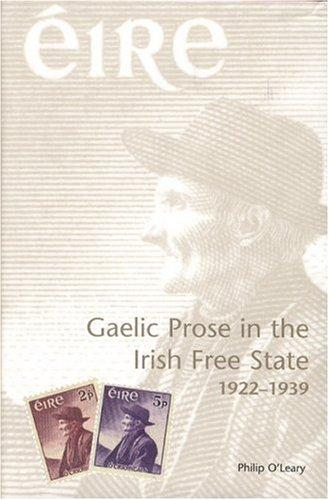 Gaelic prose in the Irish Free State, 1922-1939