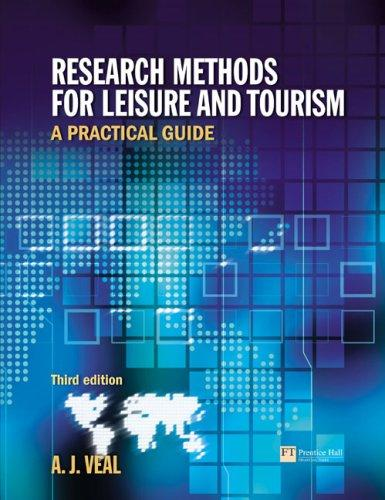 Download Research methods for leisure and tourism