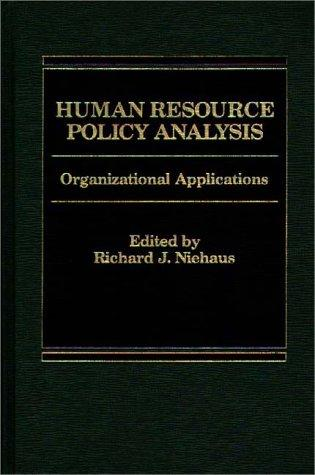 Download Human Resource Policy Analysis