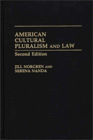 Download American Cultural Pluralism and Law