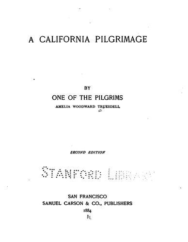 Download A California pilgrimage
