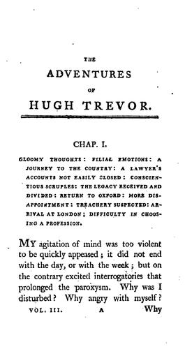Download The adventures of Hugh Trevor.