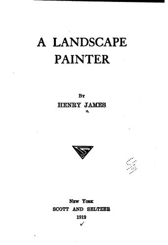 Download A landscape painter