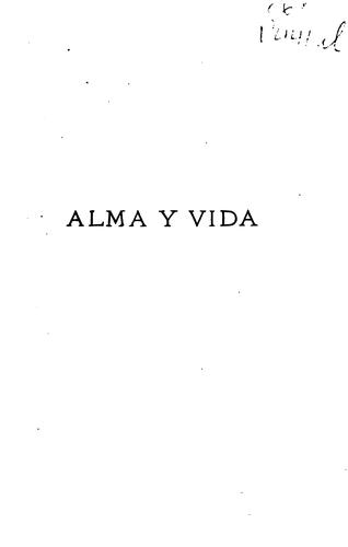 Download Alma y vida