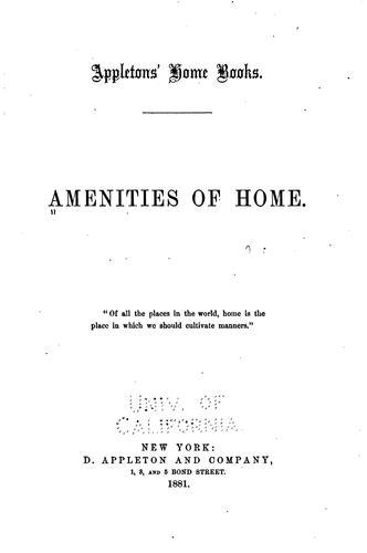Download Amenities of home.