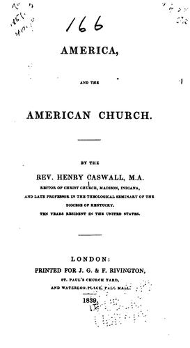 Download America and the American church