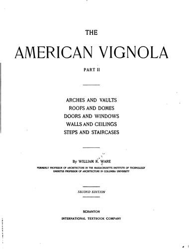 Download The American Vignola …