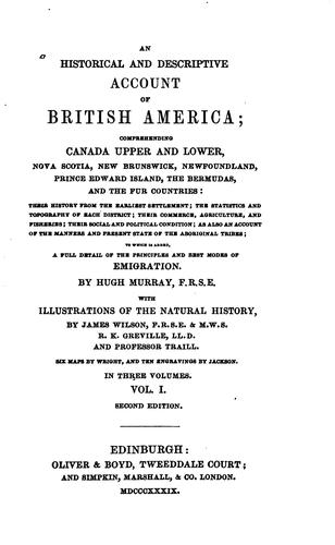 Download An historical and descriptive account of British America