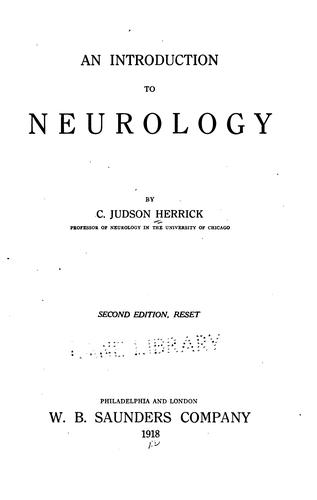 Download An introduction to neurology