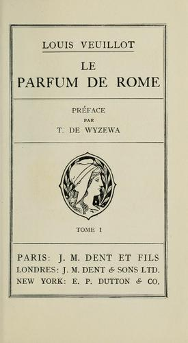 Download Le parfum de Rome