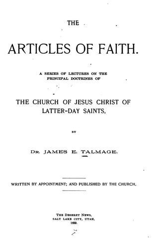 Download The articles of faith.