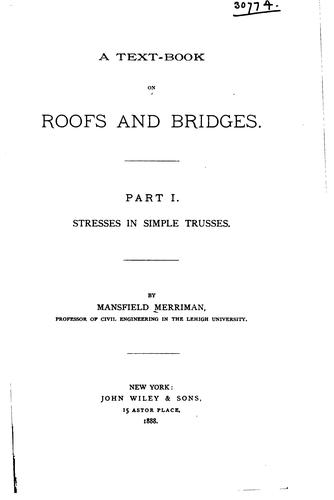 Download A text-book on roofs and bridges …