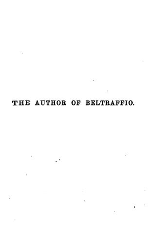 Download The author of Beltraffio
