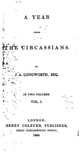 Download A year among the Circassians.