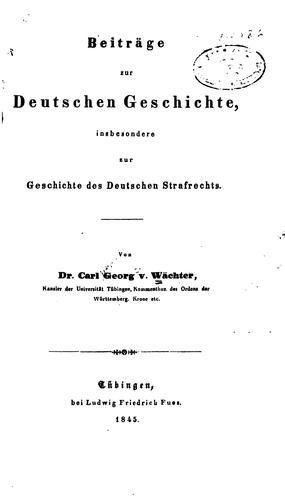 Download Beiträge zur deutschen Geschichte