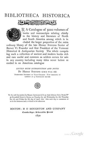 Download Bibliotheca historica