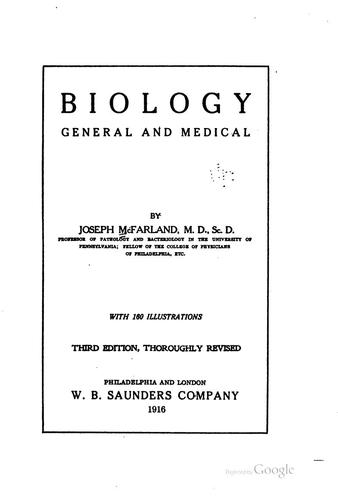 Biology, general and medical