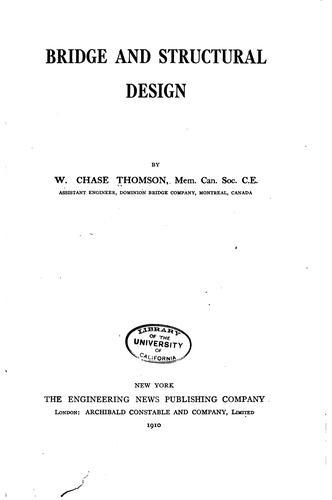 Bridge and structural design