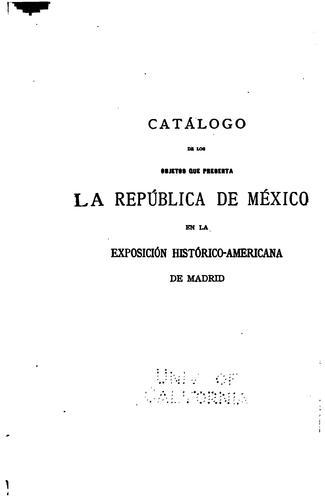 Download Catálogo de la Sección de México …