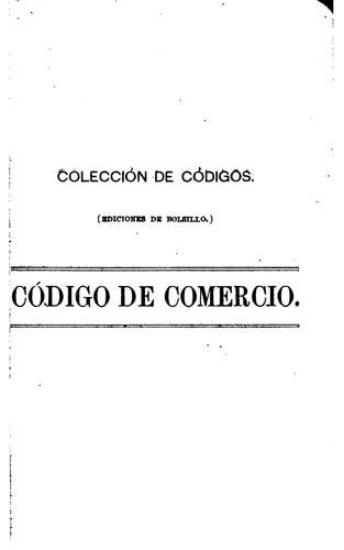 Download Código de comercio de los Estados unidos mexicanos.