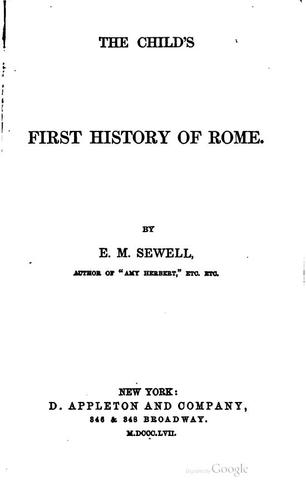 Download The child's first history of Rome.