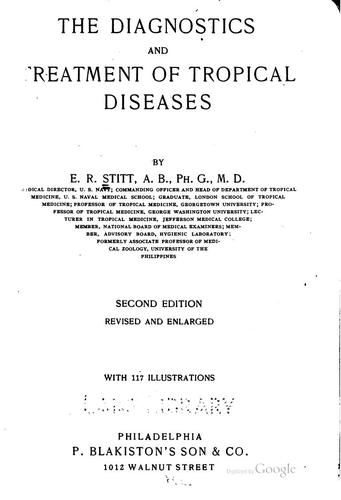 Download The diagnostics and treatment of tropical diseases