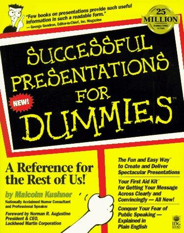 Download Successful presentations for dummies