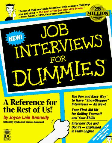 Download Job interviews for dummies