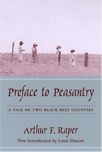 Preface to peasantry