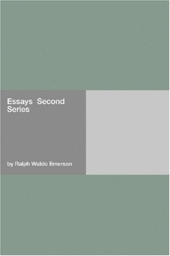 Download Essays  Second Series