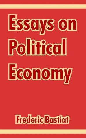 Download Essays On Political Economy