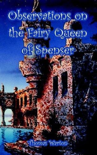 Download Observations on the Fairy Queen of Spenser