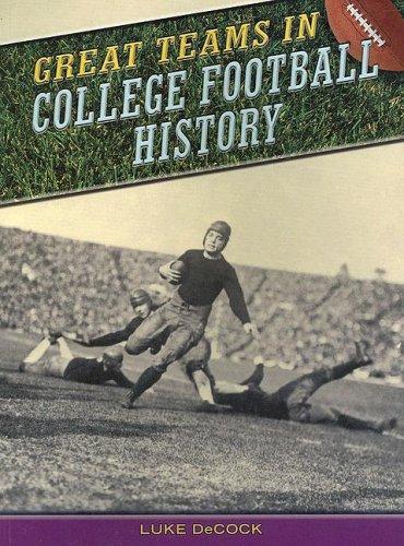 Download Great Teams in College Football History (Great Teams)