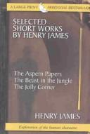 Download Selected short works by Henry James.