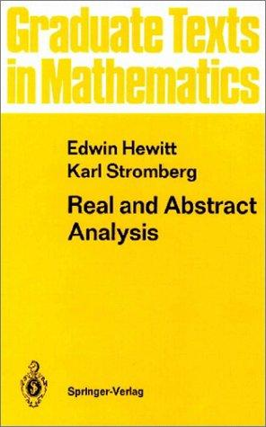 Download Real and abstract analysis
