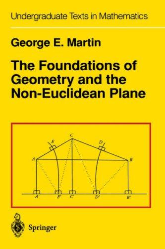 The foundations of geometry and the non-Euclidean plane